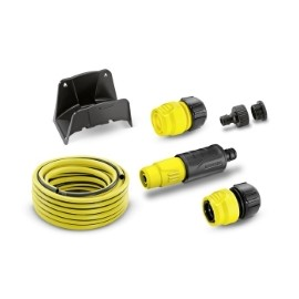 "Set furtun 1/2"" - 15m cu suport de perete"