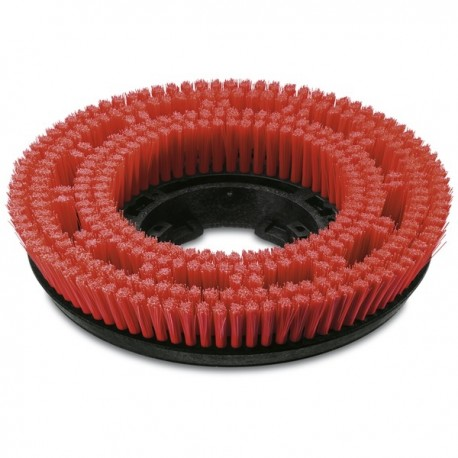 Disc brush red